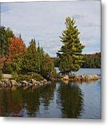 Algonquin - Canoe Lake Metal Print
