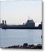 Alpena Ship Metal Print