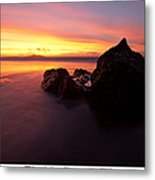 Atomic Rock Metal Print
