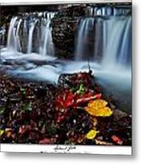Autumnal Falls Metal Print