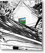 Beauregard Attic Baton Rouge Metal Print