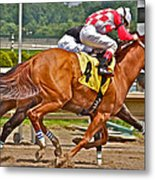 Betting On Number Four Metal Print