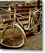 Bicycle Breakdown Metal Print
