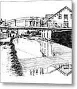 Canal Ellenville Metal Print