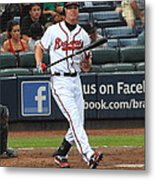 Chipper Jones Metal Print