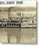 Coney Island Steamer Princess Metal Print