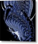 Cryptic Triptych II Metal Print