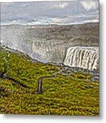 Detifoss Waterfall In Iceland - 02 Metal Print