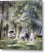 In The Park At Saint-cloud Metal Print