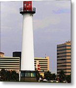 Lions Lighthouse For Sight Metal Print