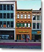 Main Street Decay 11429 Metal Print
