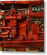 Mccormick Tractor - Farm Equipment  - Nostalgia - Vintage Metal Print