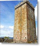 Melgaco Castle  In The North Of Portugal Metal Print by Inacio Pires