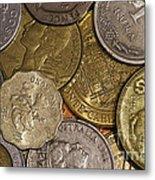 Money Money Money Metal Print