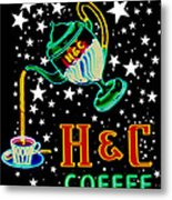 Out Of This World Coffee Metal Print