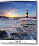 Penmon Point Lighthouse Metal Print
