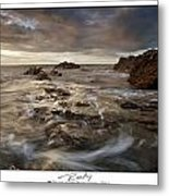 Rocky - At Trearddur Bay Metal Print