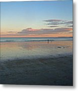 Solo By The Sea Metal Print