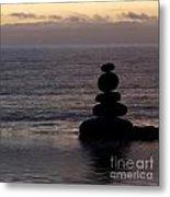 Stone Balance 5 Metal Print