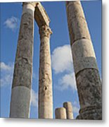 The Ruins Of The Ancient Citadel, Or Metal Print