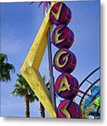 Vegas Sign Metal Print