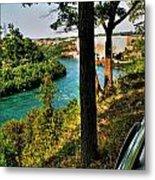 001 Niagara Gorge Trail Series  Metal Print