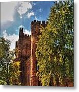001 The 74th Regimental Armory In Buffalo New York Metal Print