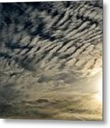 001 When Feeling Down  Pick Your Head Up To The Skies Series Metal Print
