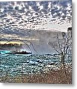 0018 View Of Horseshoe Falls From Terrapin Point Series Metal Print