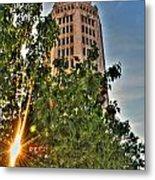 002 Electric Tower At Sunrise  Metal Print