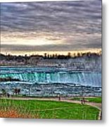 002 View Of Horseshoe Falls From Terrapin Point Series Metal Print