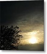 002 When Feeling Down  Pick Your Head Up To The Skies Series Metal Print