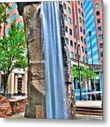 003 Fountain Plaza  Metal Print