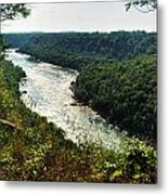 003 Niagara Gorge Trail Series  Metal Print