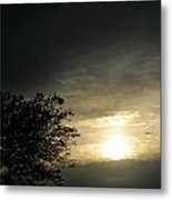 003 When Feeling Down  Pick Your Head Up To The Skies Series Metal Print