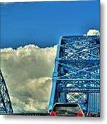 006 Grand Island Bridge Series Metal Print