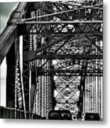 008 Grand Island Bridge Series Metal Print