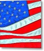 01 American Flag Metal Print