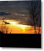 01 Sunset Metal Print