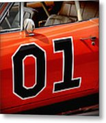 01 - The General Lee 1969 Dodge Charger Metal Print by Gordon Dean II