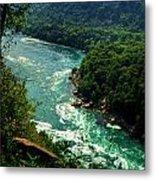 011 Niagara Gorge Trail Series  Metal Print