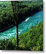 013 Niagara Gorge Trail Series  Metal Print