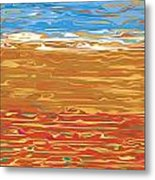 0145 Abstract Landscape Metal Print