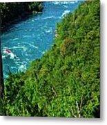 017 Niagara Gorge Trail Series  Metal Print