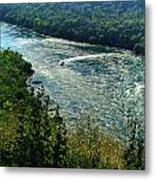 018 Niagara Gorge Trail Series  Metal Print
