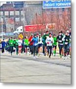 020 Shamrock Run Series Metal Print