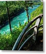 021 Niagara Gorge Trail Series  Metal Print