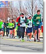 021 Shamrock Run Series Metal Print