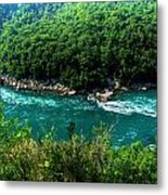 022 Niagara Gorge Trail Series  Metal Print