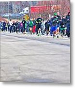 026 Shamrock Run Series Metal Print